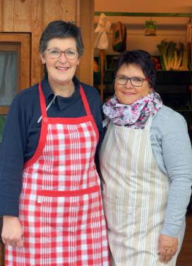 Ursula Leybold und Sandra Hillenmeyer