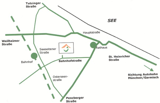 Anfahrt Seeshaupter Hofladen